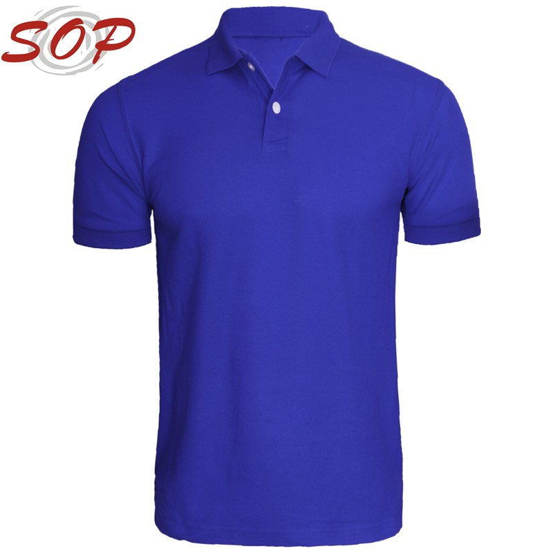 2016 Comfortable Sport Wear For Men Quick Dry Custom Logo Polo T Shirt