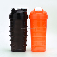 Plastic protein shaker bottle Joyshaker water bottle .