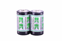 1.5V R20 Carbon Zinc battery PVC Jacket D SIZE UM-1