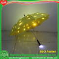 Clear Led Umbrella Can Be Printing Logo