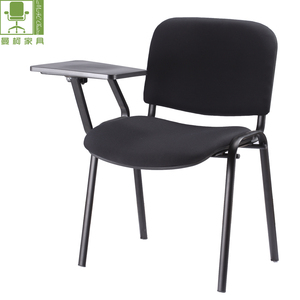 Best fabric school chair student chair with writing pad