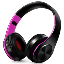 Wireless BT headphone For SmartPhone Headband Headset Low Bass With Mic Blue Tooth Headphone MP3 Palyer