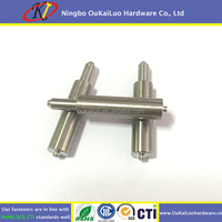 Customized long precision transmission forging stainless steel shaft, linear spline motor axle shaft, worm gear shaft