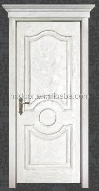 House door design with white colour