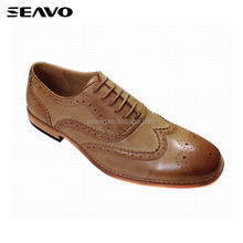 SEAVO SS17 fashion modern style dinner party dark color high quality pictures mens dress shoes