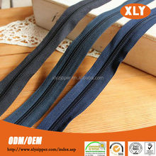2014 new design long chain nylon zipper rolls for wedding dresses