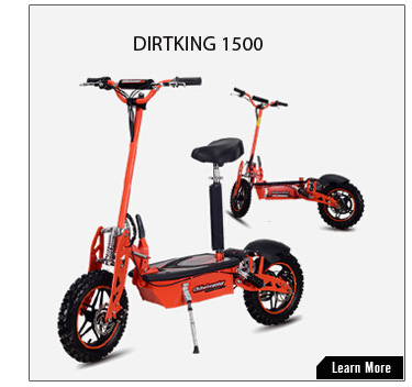 Electrics scooter with 1000W motor and off-road tire
