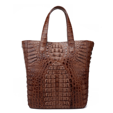 Brand Crocodile genuine leather skin handbag high quality