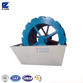 On sale wheel ore washing machine plant from good manufacturer