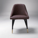 armless chair wholesale cheap of modern design for dining room and hotel furniture