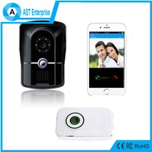 latest Remote control Waterproof Outdoor WIFI Doorbell Night Vision hd megapixel ip camera wireless video intercom