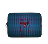 simple travel personalized laptop bags spider printed soft laptop handbags