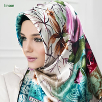 Factory Direct Custom Digital Printed 100% Silk Factory Direct Custom Digital Printed 100% Silk Muslim Tudung
