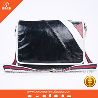 new design good quality men's shoulder leather bags