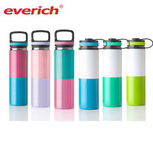 Two Kinds Spray Paint Wide Mouth Double Wall Stainless Steel Vacuum Flask