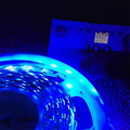 16.4FT 3528 UV Purple LED Strip Light 395-405nm LED Strip 5M 300 SMD Flex Light Waterproof IP65 12V DC