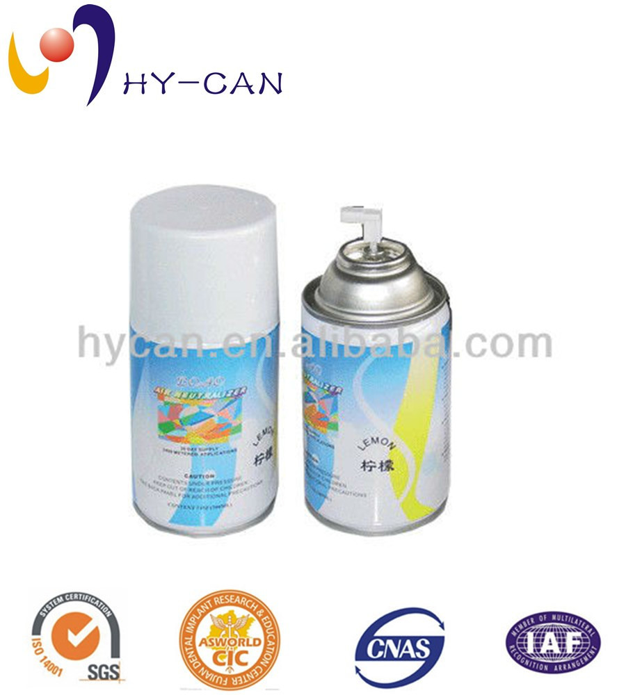 High Quality Empty Aerosol Tin
