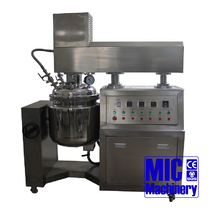MIC 50L 50 liter Stainless vacuum stirring homogenizer price