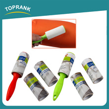 Toprank Custom Plastic Washable Clothes Cleaning Lint Roller Travel Industrial Sticky Lint Roller With Mini Handle