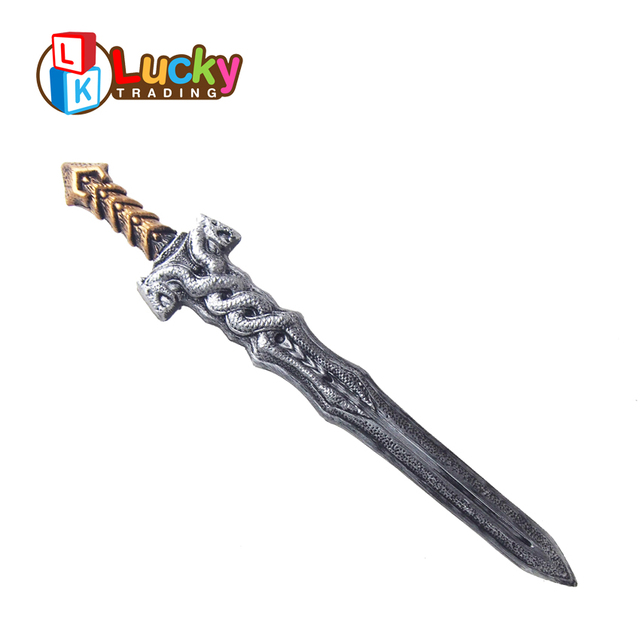hot selling kids costume props plastic weapons toy sword for party halloween