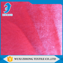professional custom fabric silk velvet fabric price