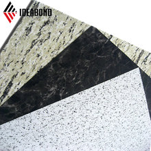Light Weight Exterior Building Materials Best Sell Marble Finish Aluminum Composite Panel/Stone Look Wall Panelling