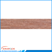 Clay material wooden floor tiles 200x1200mm size