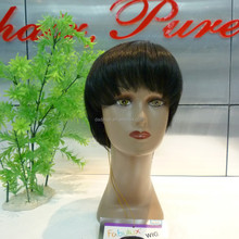 Machine made high temperature fiber Chinese bang Wigs for sale