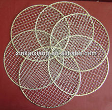 Barbecue Wire Mesh,galvanized,s.s.grills,round or square type