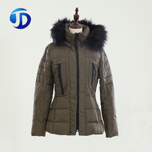 Wholesale High Quality Hooded Lady Outdoor Winter Women Padded Jacket