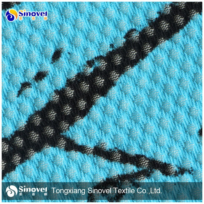 Brushed Mesh Fabric/Customized Mesh for Car Seat, Tracksuit,Lining and Etc
