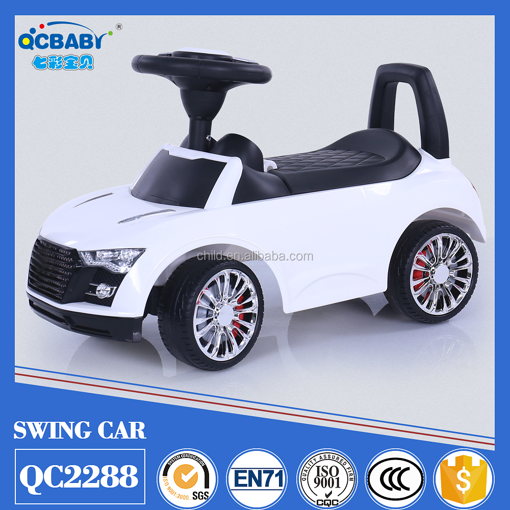 2017 New proucts children's ride on toy swing car
