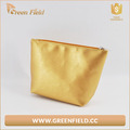 Promotional golden PU Cosmetic Bag cheap Make up Bag for Girl