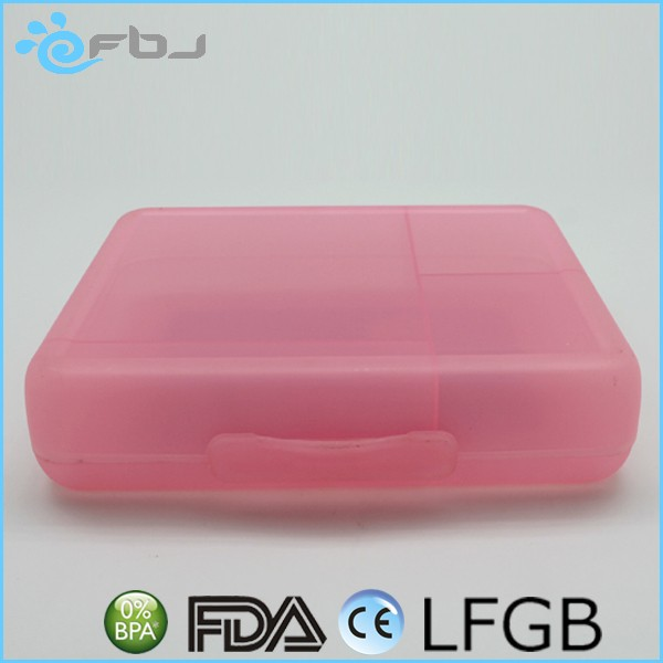 ~ Plastic Rectangle Food Storage Crisper microwave divided food container