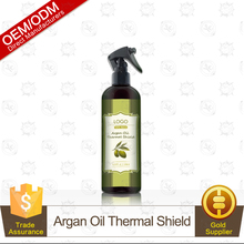 100% Organic Argan Oil Thermal Shield Hair Protection Spray 120ml OEM/ODM Supply