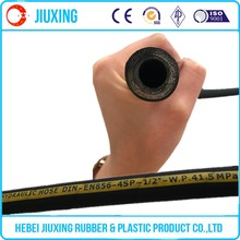 Jiuxing factory spiral steel sire reinforced rubber hose pipe price list
