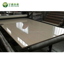 high gloss UV coated MDF board 18mm UV MDF panel