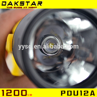 DAKSTAR PDU12A High quality long duration time 100m waterproof military diving torch From China supplier