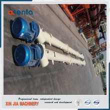 hopper and horizontal auger high speed screw conveyor