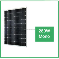 High efficiency , 280W mono Solar Panel for Industrial use