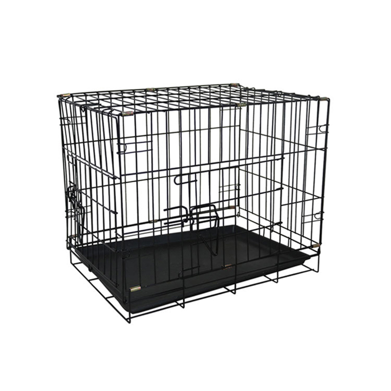 Galvanized large outdoor dog backyard kennel / pet house / double dog cage