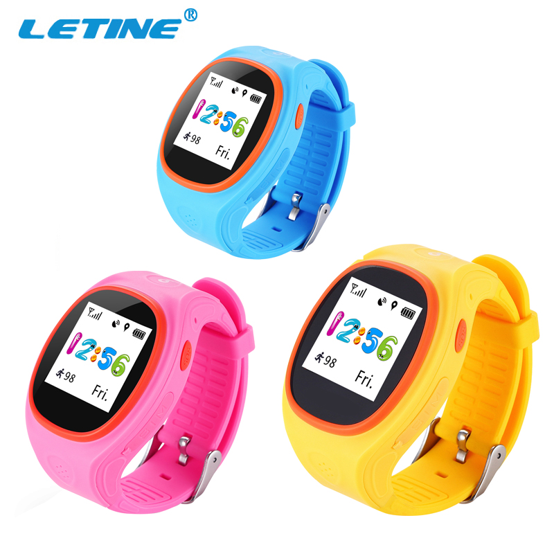 GPS Kids Smart Tracking Watch Phone OLED Double Talk Function Kids GPS Watch Phone Kids Smart Watch