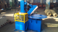 Car Tyre Cutter Machine For Pyrolysis Plant / Tire Shredding Equipments