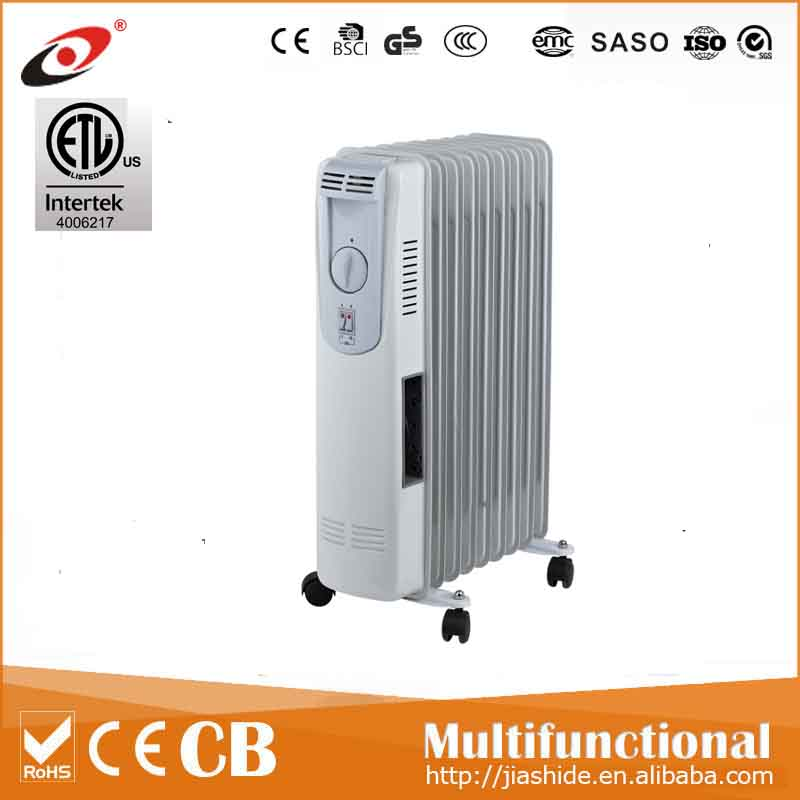 Hot sale home oil heater/Oil filled radiator 1500W~2500W WITH ETL CERTIFIATES