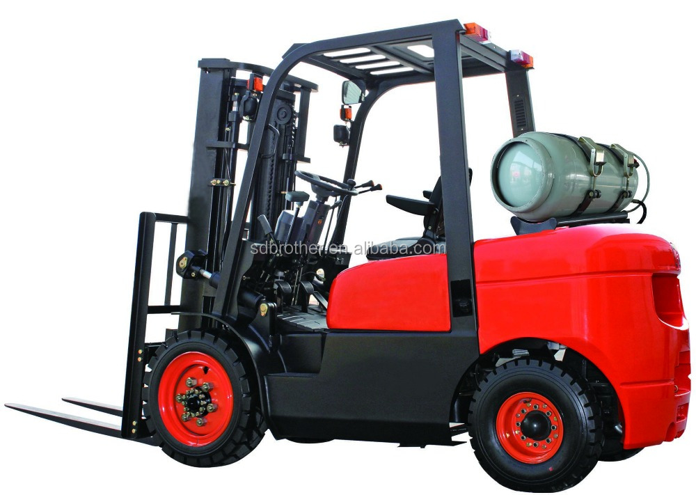 3.5Ton LPG/Gasoline Forklift Truck with Japan Nissan K25 Engine, good price