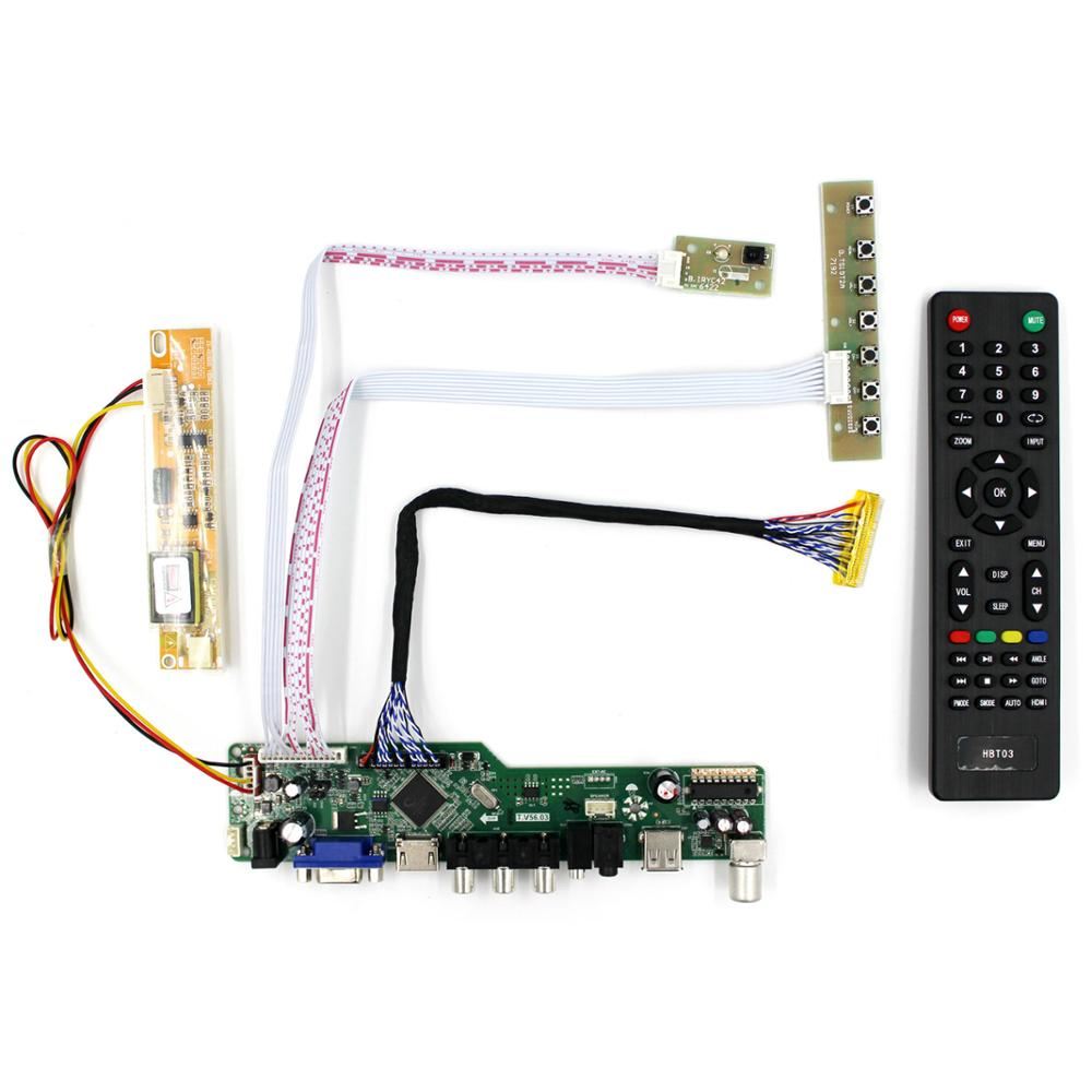TV board/LCD controller Board work for 1440x900 30Pin lcd Panel