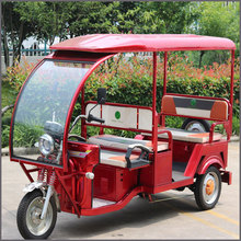 60V 1000W differential motor driving electric cycle rickshaw for passengers