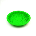 Attractive Various Design Popular Custom green round Silicone Cake Molds