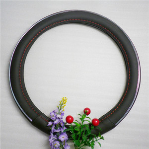 leather car interior accessories steering wheel cover