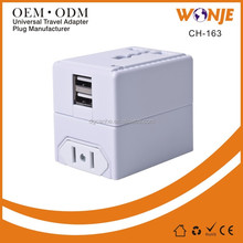 High Quality Universal travel adapter electrical gift items